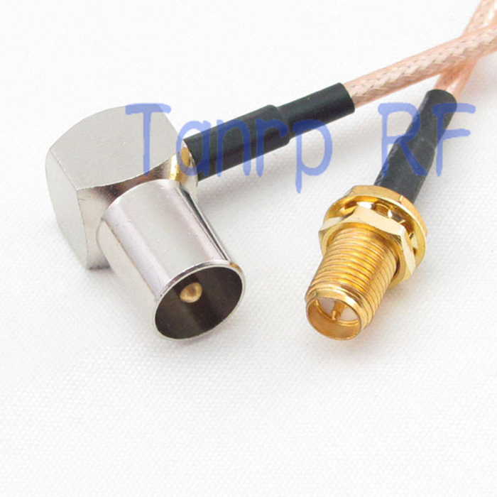 SMA Male To SMA Female Jack Connector Cable Adapter Pigtail 30CM Adapter TB