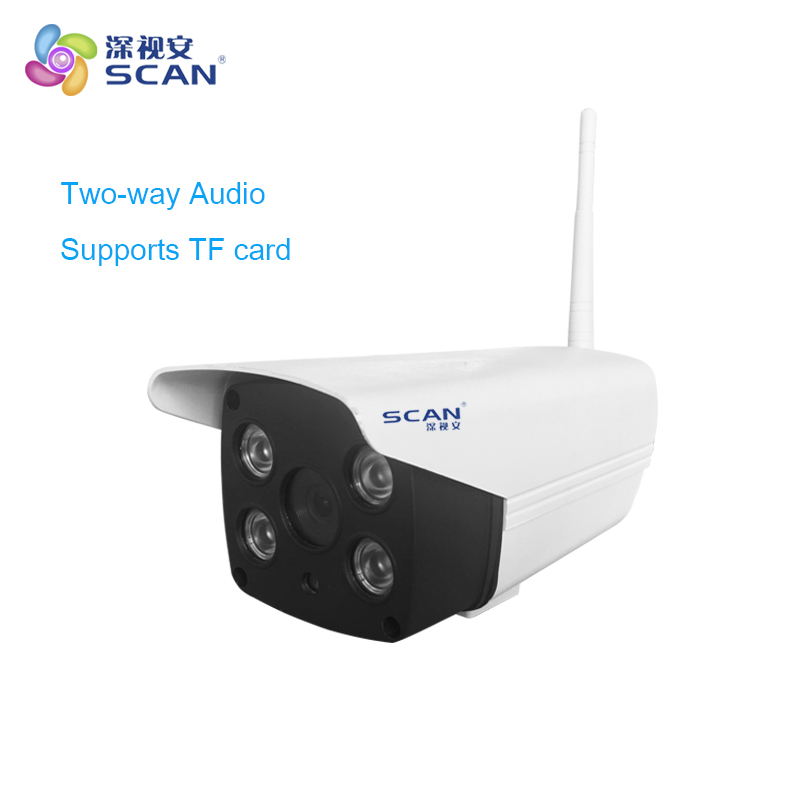 HD 720P Wifi Bullet White Plastic Camera Two-way Audio 32G Tf card CCTV Infrared Light Freeshipping Hot SalesHD 720P Wifi Bullet White Plastic Camera Two-way Audio 32G Tf card CCTV Infrared Light Freeshipping Hot Sales