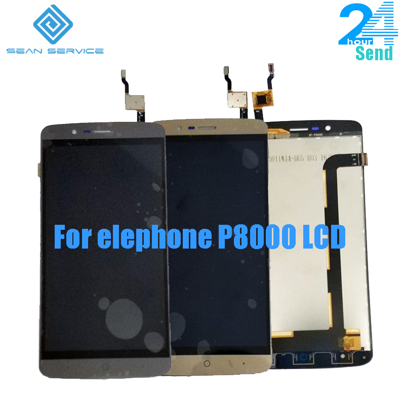 """For Original Elephone P8000 LCD Display +Touch Screen Digitizer Assembly Replacement Parts 5.5""""For Android 6.0 5.1 all version"""