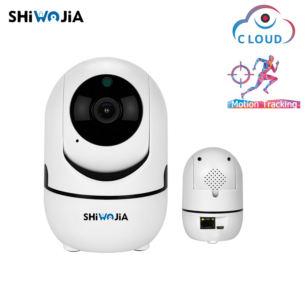 SHIWOJIA  720P 1080P WIFI Wired IP Camera AI Auto Tracking Mini Wifi Cam Home Security Surveillance CCTV Network Camera INQMEGASHIWOJIA  720P 1080P WIFI Wired IP Camera AI Auto Tracking Mini Wifi Cam Home Security Surveillance CCTV Network Camera INQMEGA
