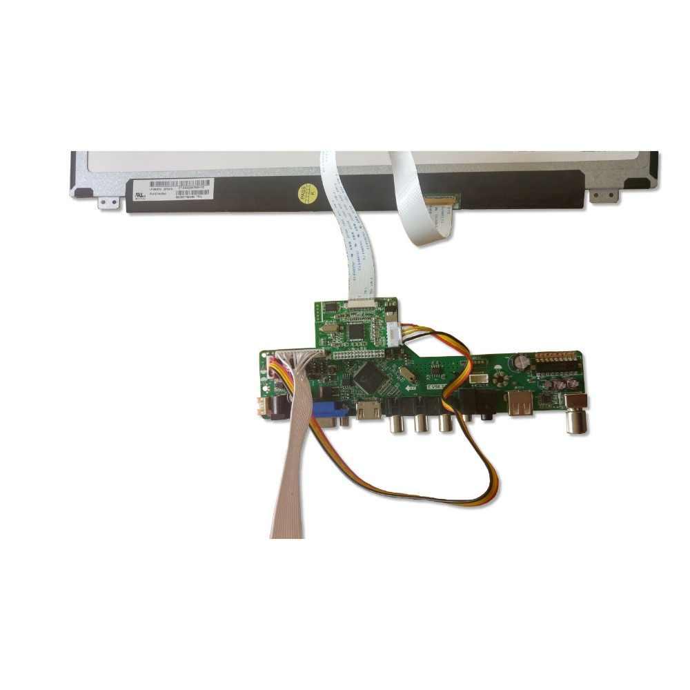 "Voor B156HTN03.6/7 B156HTN03.8/9 Scherm Edp Lcd Led Controller Board 30pin Hdmi Vga Monitor 1920X1080 15.6"""