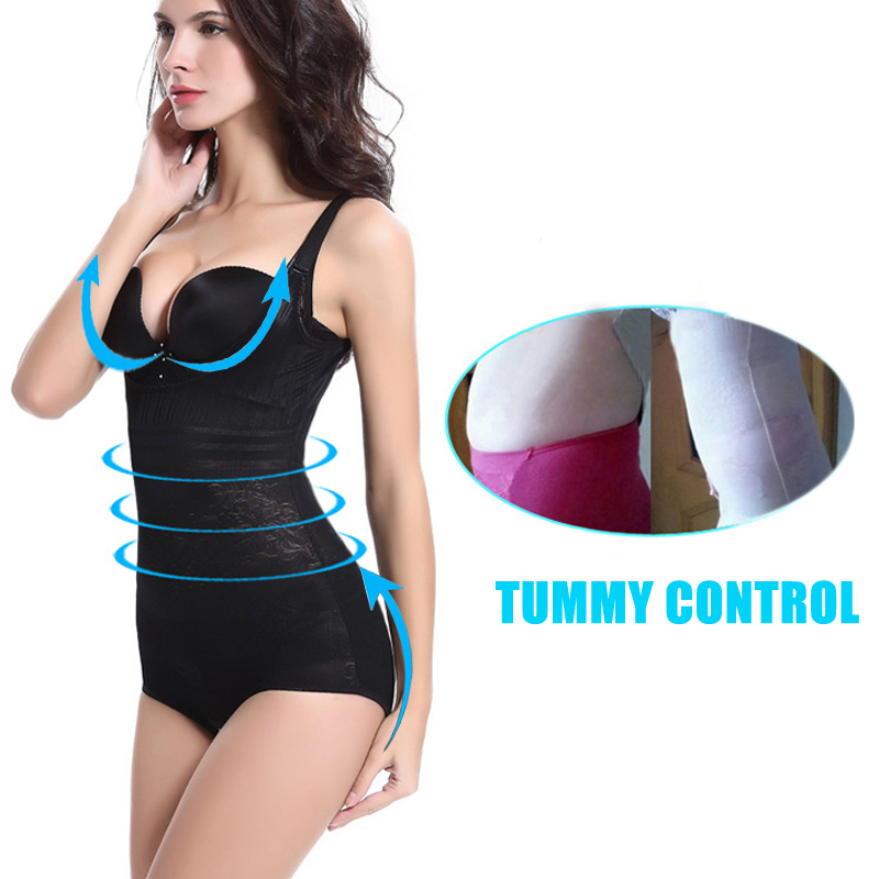 e04cb62cf37 NINGMI Women Shapewear Postpartum Slimming Underwear Waist Trainer Corset  Sexy Girdle Brief Bodysuit Tummy Slim Full Body Shaper