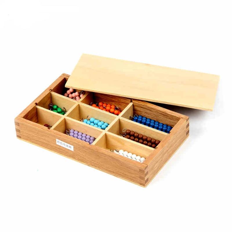 Profesjonell Montessori Math Materialer - Krystalliserte Strender av - Læring og utdanning - Bilde 4