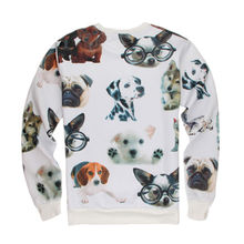 Lovable Print Pullover 3D Sweatshirt Kinds Of Cute Dogs