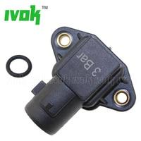3 Bar Manifold Air Pressure MAP Sensor Assy For Honda Civic Del Sol Accord CR V