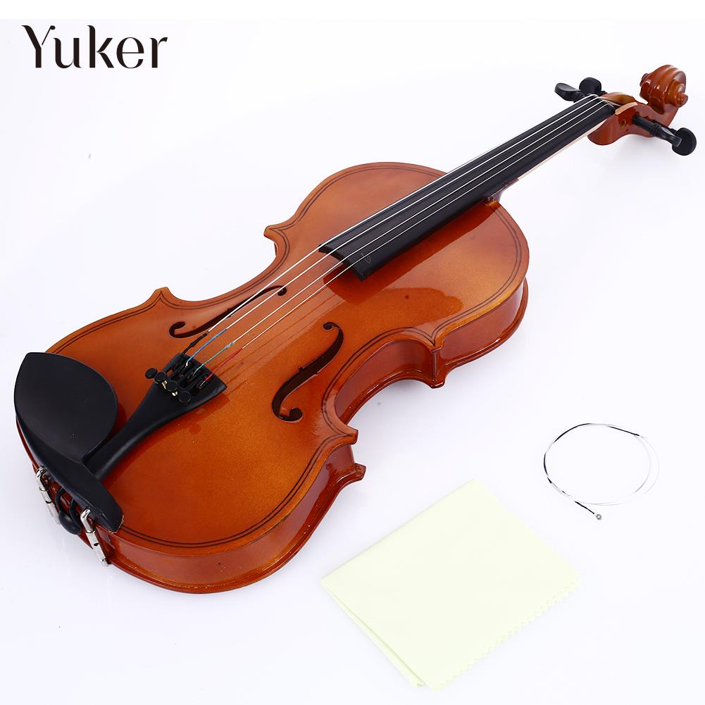 Resin Tochigi Violin Musical Instruments 1/8 Violin Portable Music Beginner Violin Decoration Student image