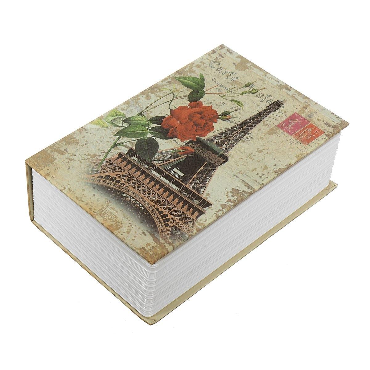 Nueva seguro mini Home seguridad diccionario libro efectivo joyería clave de almacenamiento caja de bloqueo protección de la seguridad del hogar
