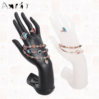 Hand Shape Display Shelf Ring Holder Bracelet Displays Rack Rings Stand Organizer Hand Bangle Show Frame