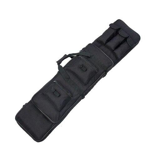 Táctica militar 120 x 30 x 8 cm 600D Oxford tela impermeable Airsoft Gun Bag Cas