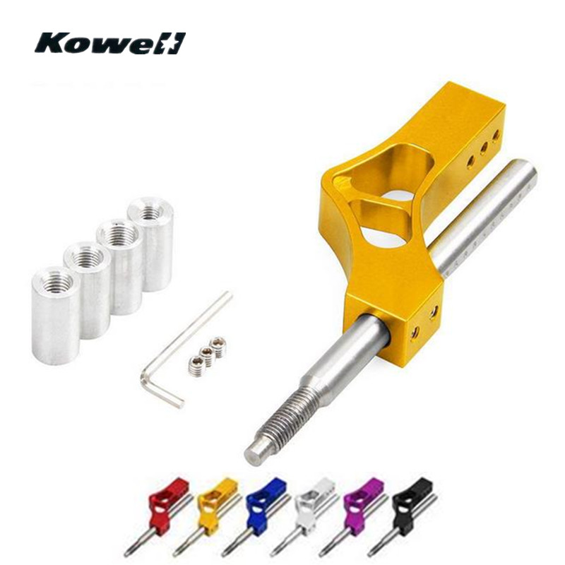 KOWELL Universal Auto Car Gear Shift Knob Extender Adjustable Shift Lever Extender Shifter Adapter Auto Accessories Replacement stainless steel zero 1000 shift knob replacement black page 3