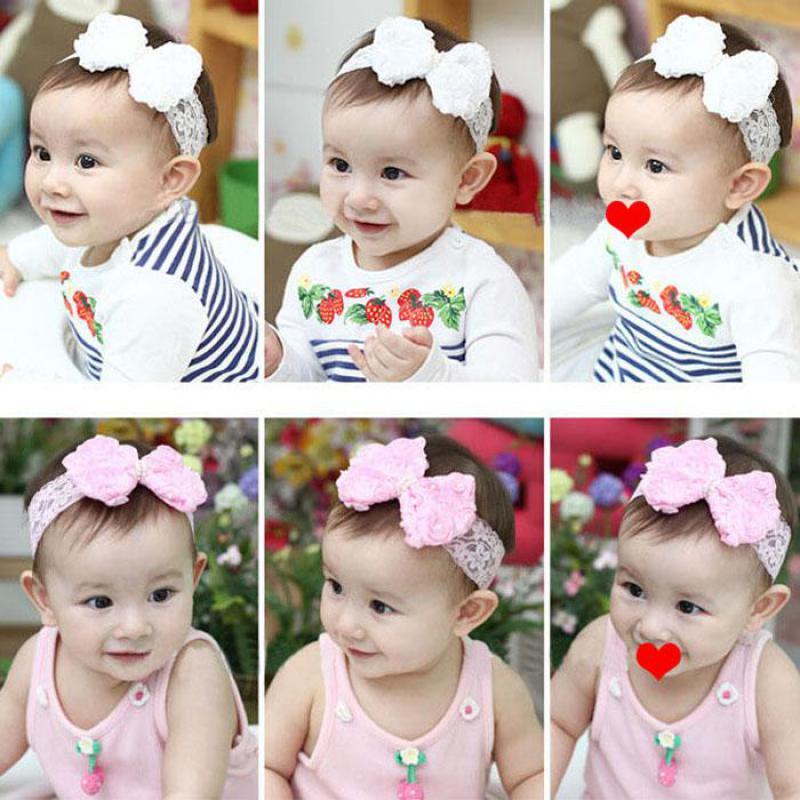 Baby Girl Elastic Bowknot Headband Hair Band Bohemia Headdress Hair Accessories Para El Cabello Scrunchie Turban Headband Toka Moderate Price Hair Accessories