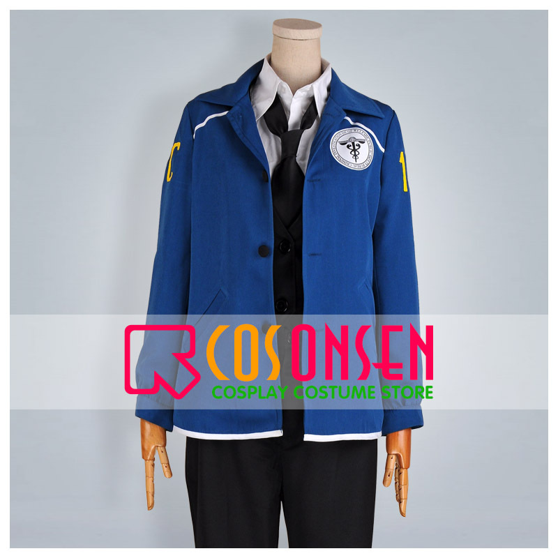 COSPLAYONSEN PSYCHO PASS Nobuchika Ginoza Cosplay Costume All Size-in Anime Costumes from Novelty & Special Use    1