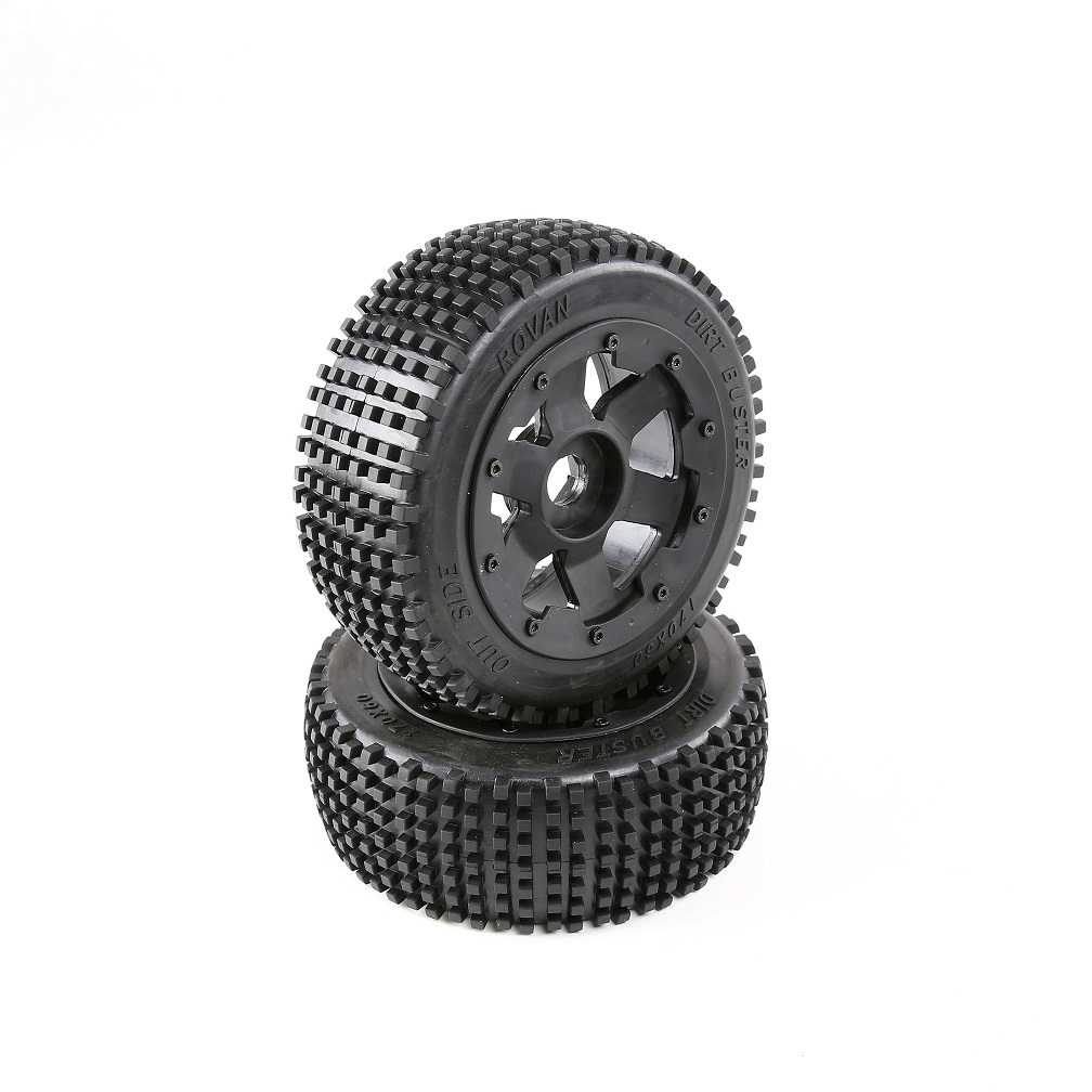 Front Pin Tyres With Wheel Hub Front Nail Wheels 1/5 Scale HPI ROVAN KM Baja 5B SS Rc Car Tyres Parts front sand buster tyres tire set with nylon wheel 2pcs for baja 5b hpi km rovan