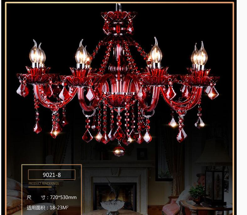 Popular Red Crystal Chandelier Buy Cheap Red Crystal
