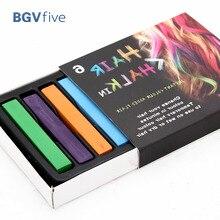 6 Colors Non-toxic Temporary DIY Hair Chalk Color Dye Pastels Salon Kit