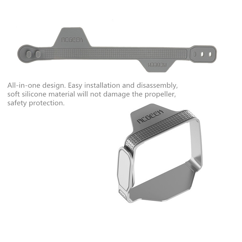 Silicone Drone Blades Fixed Strap Propeller Protector Holder for DJI Mavic Air 2