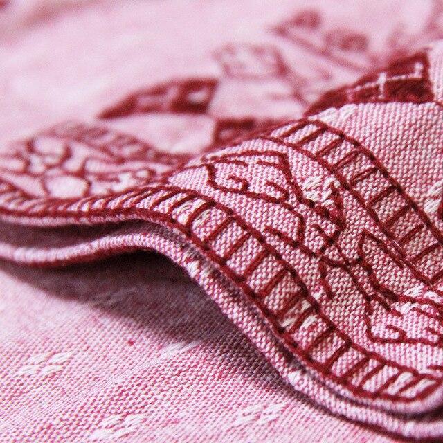 Dames Broderie Qualité Et Nourriture Distributeur Jacquard D'été Nouveau Printemps Rétro Grande De Taille Color Vêtements Une d11xqrw8