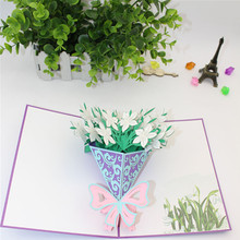Buy musical greeting cards and get free shipping on aliexpress 3d flower pop up greeting card happy birthday music led lighting carving art paper craft invitations m4hsunfo