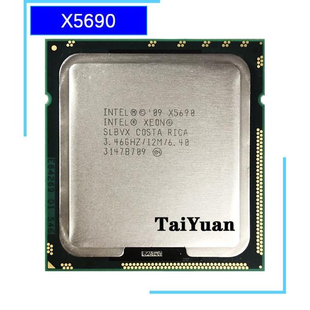 Intel Xeon X5690 3.4 GHz sześciordzeniowy dwunastogwintowy procesor CPU 12M 130W LGA 1366