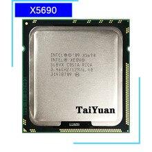 Intel Xeon X5690 3.4 GHz ستة النواة اثني عشر موضوع معالج وحدة المعالجة المركزية 12 متر 130 واط LGA 1366