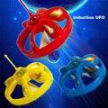 Летающая тарелка Магия Диск Mystery Плавающие НЛО Рук Индуцированные С СВЕТОДИОДНЫЕ Электронные Игрушки Для Детей Подарки На День Рождения