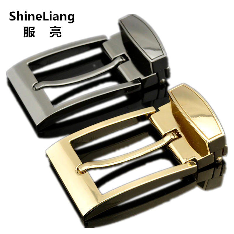 Pin Belt Buckle For Men Designers High Quality Alloy Material Adaptation Width 3.5cm Fashion Brand Male Waist Tape Accessories