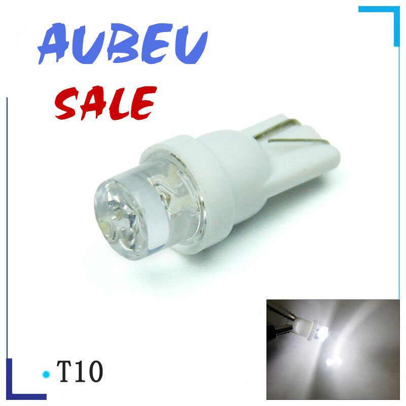 10pcs Auto T10 Led Cold White 194 W5W LED 168 COB Silica Car Super Bright Turn Side License Plate Light Lamp Bulb DC 12V