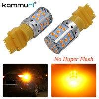 KAMMURI (2) lỗi Miễn Phí Không Có Hyper Flash Amber Bật Tín Hiệu 3156 3056 3357 3057 T25 LED Bulbs Đối Với Phía Trước hoặc Phía Sau Bật Tín Hiệu Đèn