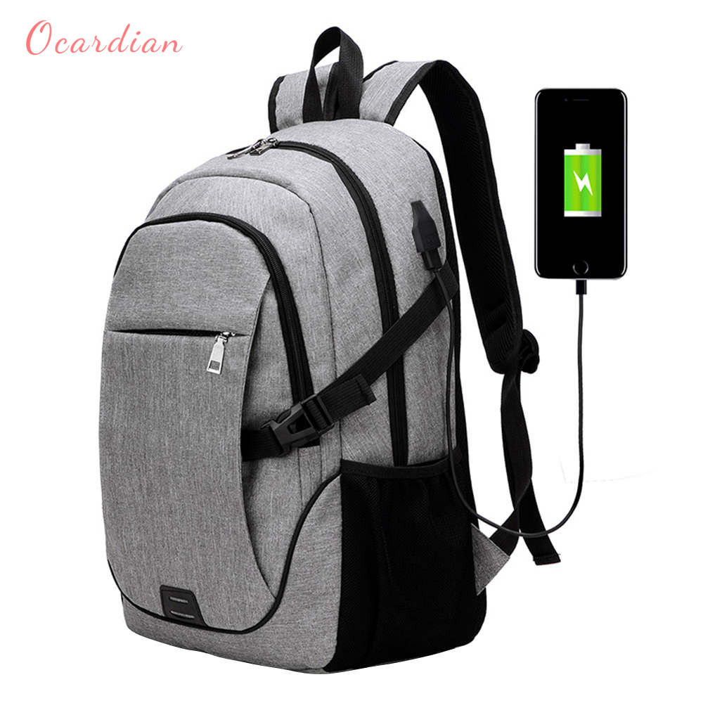 Ocardian Backpacks Fashion Trend Business Affairs Backpack Men Backpack Antitheft Usb Women Backpack Women Jl 16