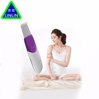 LINLIN Ultrasound Therapy Skin Scrubber Ultrasonic Pore Cleaner Galvanic Ion Spa Beauty Device Facial Massager Face
