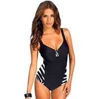 Plus Size Swimwear Female One Piece Swimsuit Women Vintage Bathing Suit 2016 One Piece Suit Retro