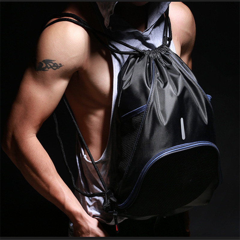 5pcs Premium Bag Outdoor Sport Climbing Bike Gym School Drawstring Swim Dance Shoe Backpack Knapsack Rucksack