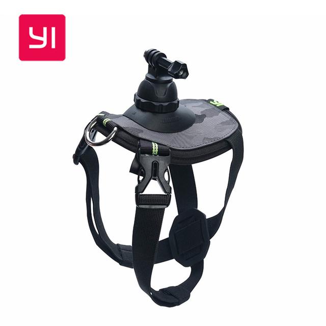 Original yi pet cão montar fetch harness chest strap para câmera de ação para sjcam xiaomi yi/gopro câmera de esportes de ação acessórios