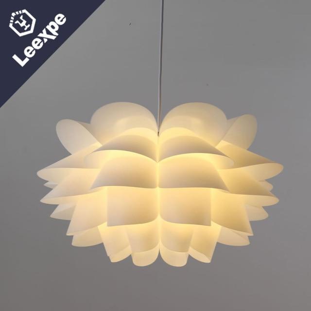 Nordic Lotus Weiss E27 Postmodernen Einfache Kunstlerische Kreative