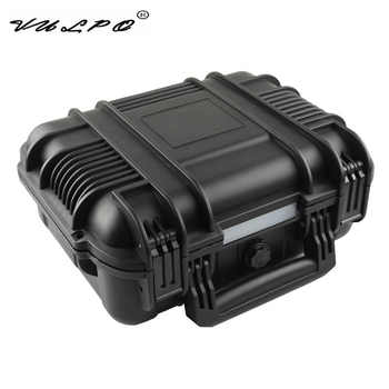 VULPO ABS Pistol Case Tactical Hard Pistol Storage Case Gun Case Padded Hunting Accessories Carry Boxs for Hunting Airsoft - DISCOUNT ITEM  15% OFF Sports & Entertainment