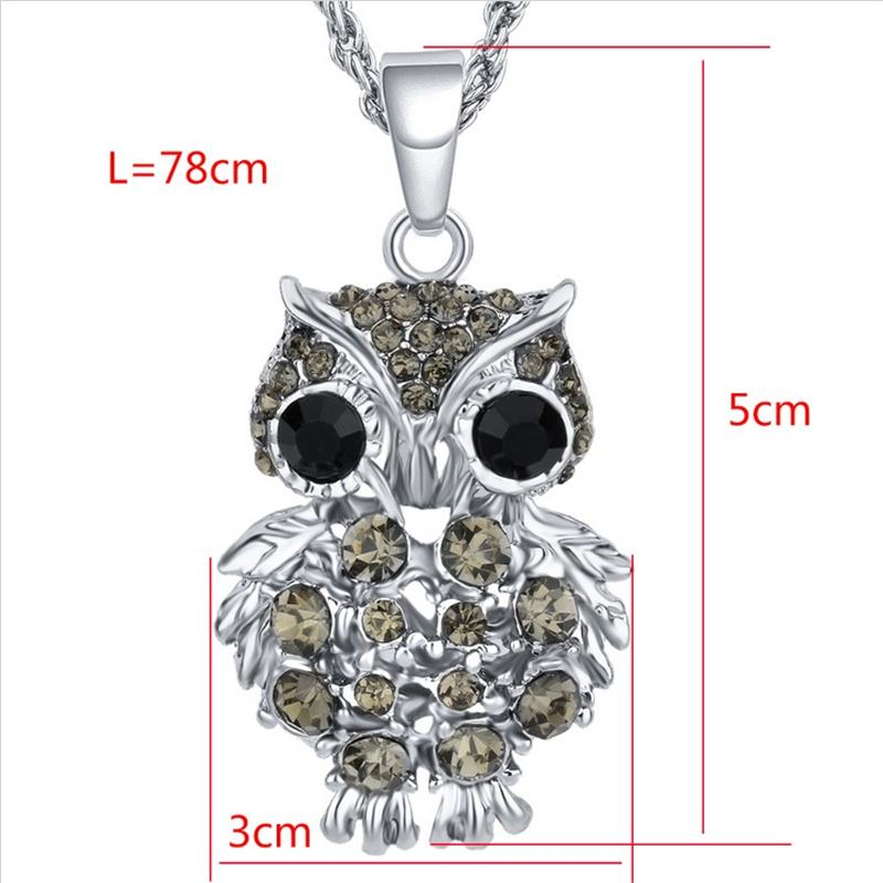 ახალი ბრენდის Charms Owl - მოდის სამკაულები - ფოტო 3