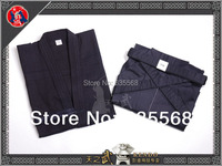 High Quality Navy Blue Kendo Aikido Iaido Hakama Gi Martial Arts Uniform Sportswear Dobok Free Shipping
