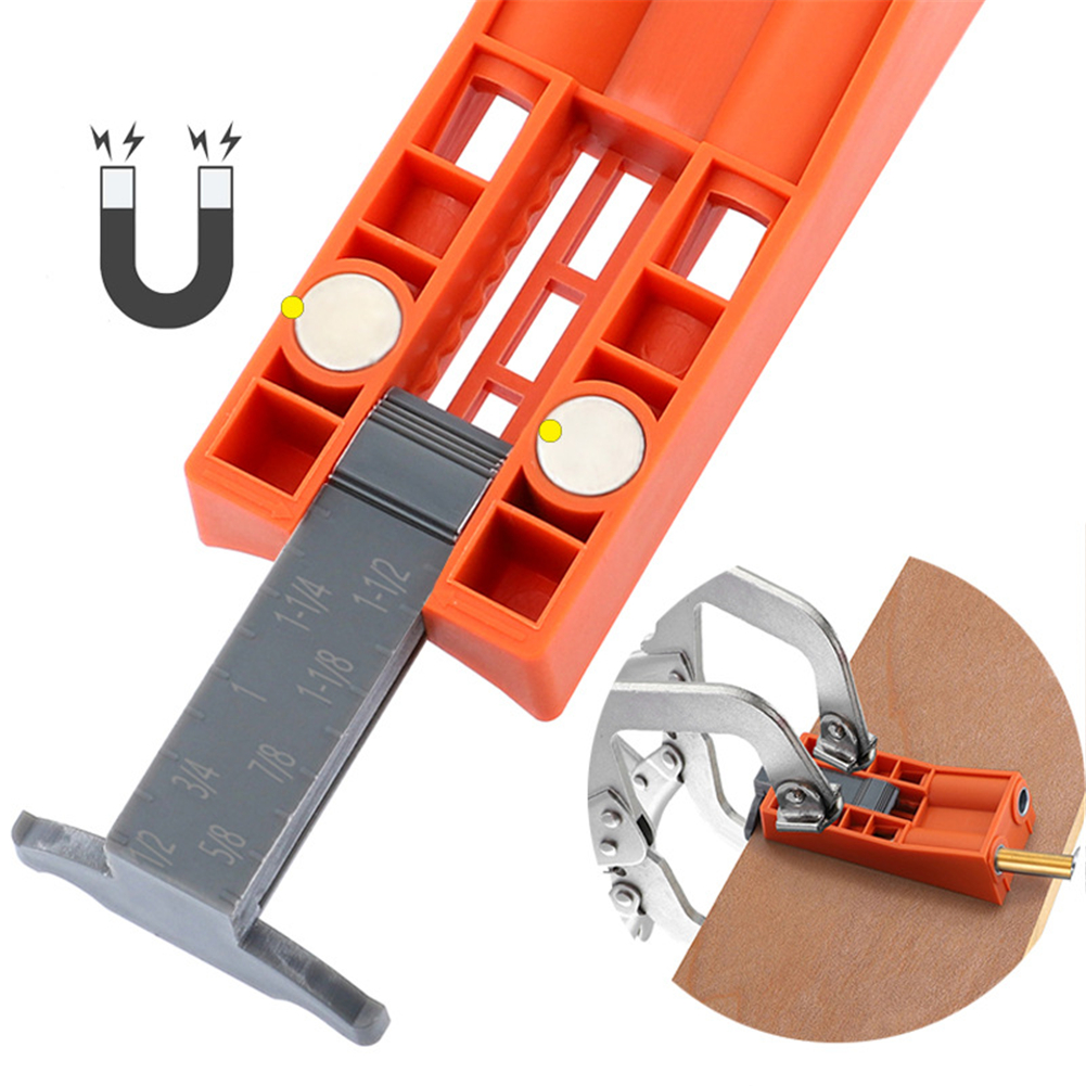 9.5mm Woodworking Tool Oblique Hole Locator Furniture Punching Wood Drilling