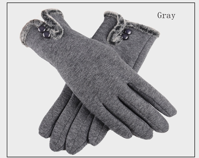 Comfortable and Warm Non Inverted Touch Screen Gloves for Women with Sensitive Touch Screen Function without Hand Exposing to Cold 22