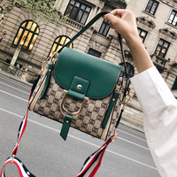 Women Bags Buckets Hit Color Floral Crossbdoy Bags for Women 2018 Leather Messenegrs Bag Luxury High Quality Handbag Luis Vuiton