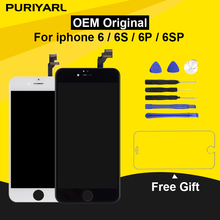 Original Pantalla LCD For iPhone 6 6S Display Screen For iPhone 6 Plus 6S Plus LCD With 3D Touch Screen Replacement Assembly high quality display screen for iphone 7 lcd with touch screen assembly for iphone 7 7plus display for iphone 6 lcd 6s 6 plus