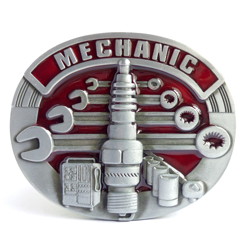 T-DISOM Hot Sale Mechanic Bältesspänne för herr Metal Belt Buckle Passar till 4cm bredd Belt Drop Shipping