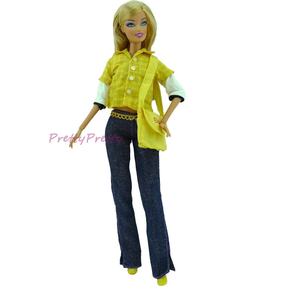 Original Barbie Doll Clothes One Set Original Outfi...
