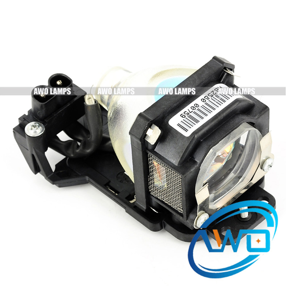 AWO Replacement Projector Lamp ET-LAM1 with Housing for PANASONIC PT-LM1/LM1E/LM1E-C/LM2/LM2E/PT-LM1U/PT-LM2U awo compatibel projector lamp vt75lp with housing for nec projectors lt280 lt380 vt470 vt670 vt676 lt375 vt675