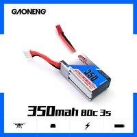 4PCS Gaoneng GNB 350mAh 3S 11.1V bateria Lipo JST 80C XT30 Plug para Corridas de FPV Zangão para Micro Drone Quadcopter FPV Corrida|Peças e Acessórios|   -