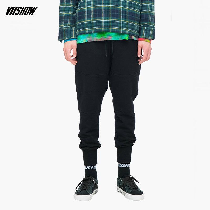 VIISHOW hombres Streetwear pantalones de marca Hip Hop Pantalones Hombre  Pantalon Homme 2018 nuevo algodón Joggers 56820744a52