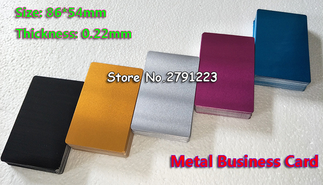 Free shipping 100pcs blank sublimation metal name card printing free shipping 100pcs blank sublimation metal name card printing blank business card use sublimation ink and reheart Choice Image