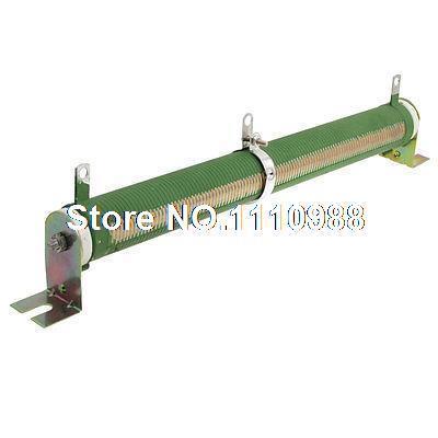 Resistor variável tubular cerâmico 100 ohm 200 watts de rheostat