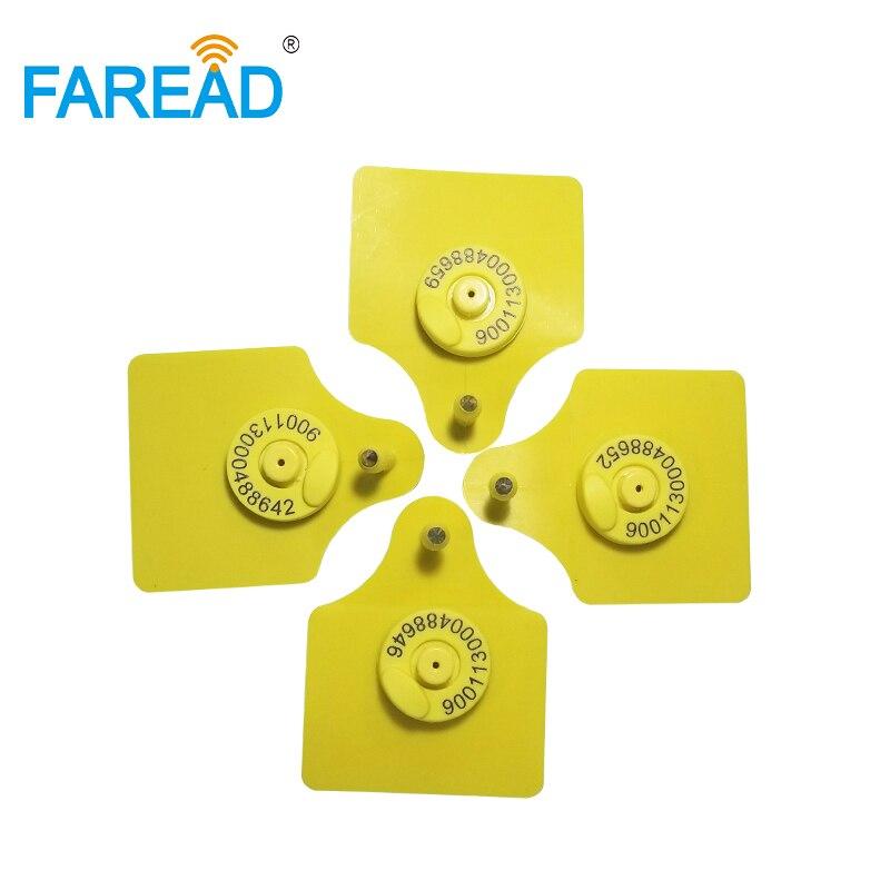 20pairs Male And Female FDX-B 134.2KHZ RFID Visual Ear Tag/EID Ear Tag /Sheep Cow Pig Plastic Tags For Animal Identification Tag