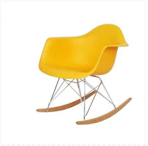 Source Wooden Rocking Chair Eames RAR Eameschair Simple Casual Nursing  Rocking Chair Recliner Shipping In Restaurant Chairs From Furniture On  Aliexpress.com ...